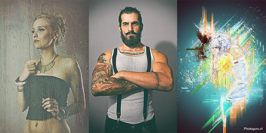 Photoshop portraits